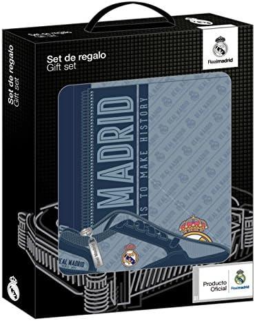 Real Madrid 2018 Trousses, 35 cm, Gris Gris Gris (Gris y Azul Marino) B078YB1JGT   Des Performances Fiables  685ae4