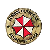 Cobra Tactical Solutions Camouflage Camo Patch Resident Evil Zombie Outbreak *...