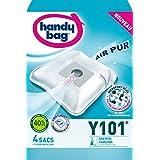 Handy Bag 4 Sacs Aspirateurs, Pour Aspirateurs Daewoo et Samsung, Fermeture Hermétique, Filtre Anti-Allergène, Filtre Moteur, Y101