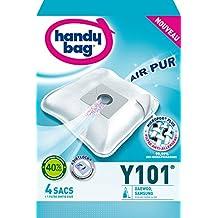 Handy Bag -Y101-4 Sacs Aspirateurs, pour Aspirateurs Daewoo et Samsung, Fermeture Hermétique, Filtre Anti-Allergène, Filtre Moteur