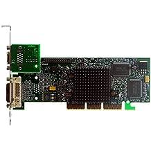 AGP-tarjeta gráfica Matrox G550 G55 + MDHA32DB VGA + DVI ID3058