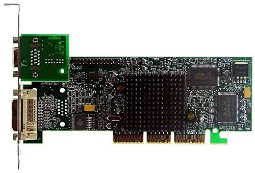 Matrox AGP Grafikkarte G550 G55+ MDHA32DB VGA+DVi, 32MB, VGA+DVI, NEUW. BULK - Ati Radeon Hd 3450