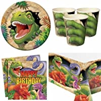 Dino Blast Party Tableware pack for 8 by Party Bags 2 Go