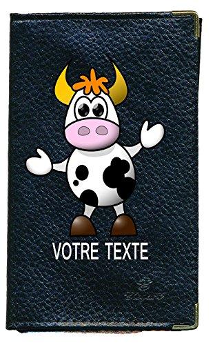 Syl'la , Fahrausweishülle schwarz Noir Vache