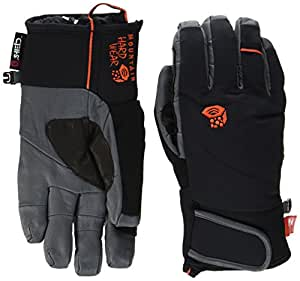 Mountain Hardwear Hydra Pro Gants Homme, Black/State Orange, FR : XL (Taille Fabricant : XL)