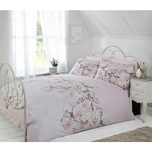 Eloise Duvet Cover Set, Pink, Single