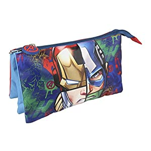 Avengers Avengers-CD-21-2148 Estuche Portatodo, Multicolor, 22 cm (Artesanía Cerdá CD-21-2148)