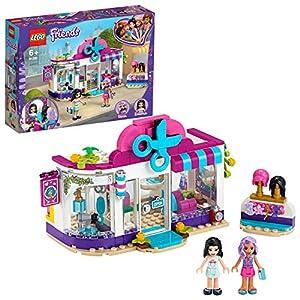 LEGO Friends - Peluquería de Heartlake City, Set de construcción de juguete con accesorios y pelucas, incluye muñecas de Emma y Nina, Novedad 2020, a partir de 6 años (41391)