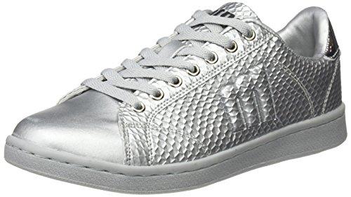 Mtng Ladies Agasi Sneaker Argento (ball Plata / Plane Plata)