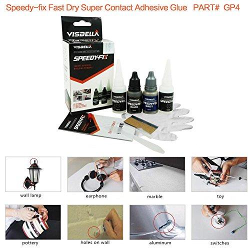 Dragon-Kit-di-Colla-per-Polveri-Colla-Rapida-Adesivo-e-Sigillante-Forte-Adesione-Multiuso-Senza-Solventi-Colla-Speedy-Fix-Repairing-Set-di-Colla-Sigillante