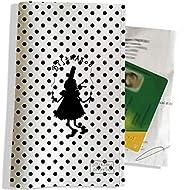 Porte ordonnance et carte vitale Motif Bigoudène Bistrakoo fond pois noir réf. 2009