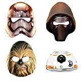 Star Wars The Force Awakens Party Masks [8 per Pack]