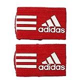 adidas Ankle Strap Armband für Herren, Rot (Rot / Weiß), NS