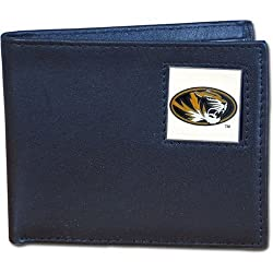 NCAA Missouri Tigers Leather Bi-fold Wallet