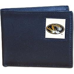 NCAA Missouri Tigers Leather Bi-fold Wallet
