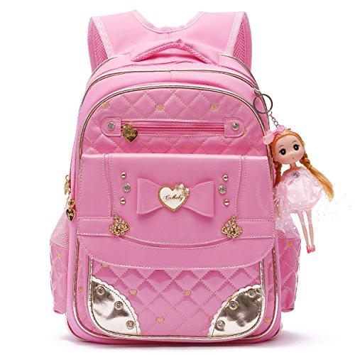 Rucksack Serie Doll Entzückende Prinzessin Schulrucksack für Grundschule Mädchen Series 15.4