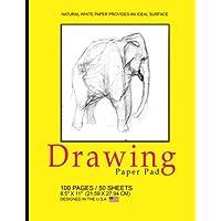 Drawing Paper Pad: Blank Drawing Pad Notepad, 8.5