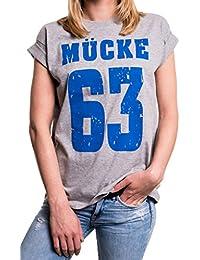 Mücke 63 - Shirt große Größen kurzarm lässig mit Aufdruck