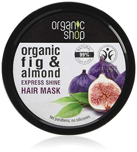Organico Shop Hair Mask Express Shine fico e mandorla, 250ml