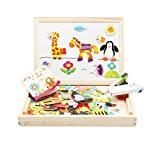 #9: Magnetic Puzzle Drawing Board (Black/White board) (Happy Farm Spells Happily)