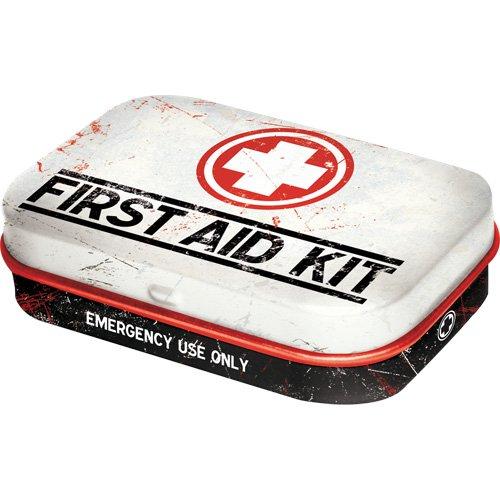 Nostalgic-Art - Nostalgic Pharmacy First Aid - Pillendose - 4x6x1,6cm