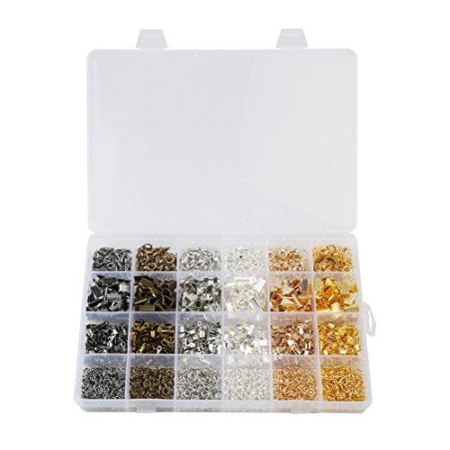 Ounona kit accessori per creazione di gioielli fai da te diy con scatola