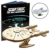 Star Trek TNG IncrediBuilds 3D Wood Model Kit U.S.S. Enterprise Insight Kits