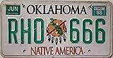US Nummernschild OKLAHOMA Kennzeichen