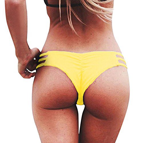 Covermason Mujer Tejido Bikini Ropa Interior...