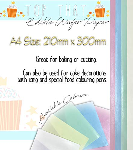 Rosa Und Gelbe Party Supplies - 30 x Coloured Selection of Sheets