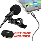 Best Microphone For Podcastings - Pro Grade Lavalier Lapel Microphone - Ideal For Review