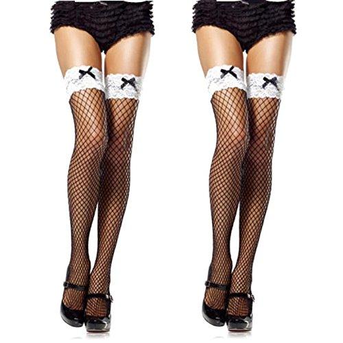 FELZ LenceríA Mujer Sexy Medias Rejilla Medias Eroticas Sexy Mujer Mallas con Estilo Transparente...