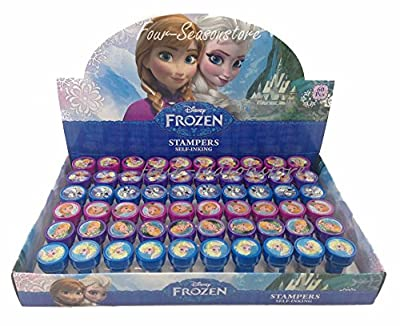 Disney Frozen Anna Elsa Olaf 30x Stampers Self-inking Birthday Party Favors by Unknown de Disney