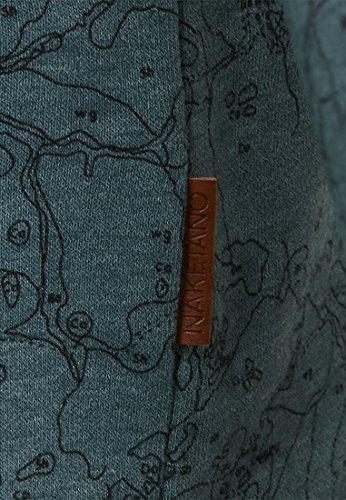 Naketano Male Sweatshirt Geleitschutz Mit Gleitschutz Forrest Melange