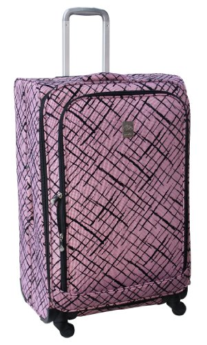 jenni-chan-brush-strokes-360-quattro-28-inch-luggage-red-one-size