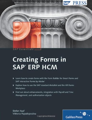 Creating Forms in SAP ERP HCM (SAP PRESS: englisch)