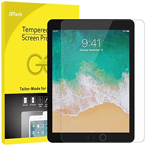 JETech Panzersglas für iPad Pro 12.9, Gehärtetem Glas Schutzfolie
