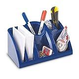 Schreibtisch-Organizer Ablagesystem Blau
