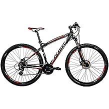 Cloot Bike - Bicicleta de montaña 29 Mountain bike 29 MTB XX 90R Shimano Altus 24 velocidades, Horquilla Suntour XCT, Aluminio 6061, Frenos disco Shimano 375 (Talla M (162-173))