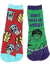 Marvel Avengers Boys Ankle socks Ironman, Captain America and Hulk