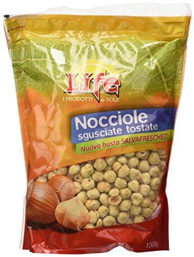Life Nocciole Sgusciate Tostate - 1000 g