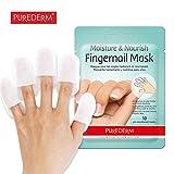 Purederm Feuchtigkeit & Nähren Finger Nagel Maske 10 (5 Packungen)