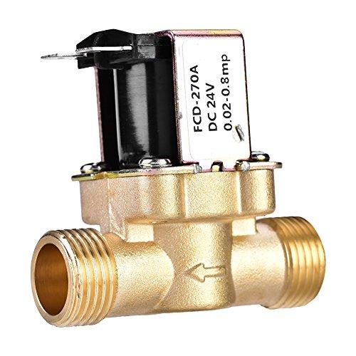 """VALVOLA solenoide OTTONE NC 1//4/"""" 230v AC 0-10 bar NBR"""