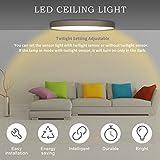 Kaday-18W-Downlight-LED-Plafn-con-sensor-de-movimiento-Lmpara-de-pared-Techo-Foco-Empotrable1300-LM6000K-Blanco-fro