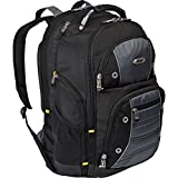 Targus Drifter Backpack/Rucksack Best for Work, Students and Gaming, Fits Most Laptops Up to 15.6-Inch, 32 Litre - Black/Grey