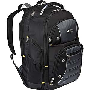 targus drifter sac dos pour ordinateur portable taille 16 noir gris informatique. Black Bedroom Furniture Sets. Home Design Ideas