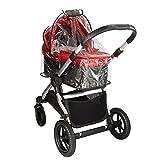 Baby Jogger BJ95151 City Select Regenschutz für Kinderwagen, schwarz