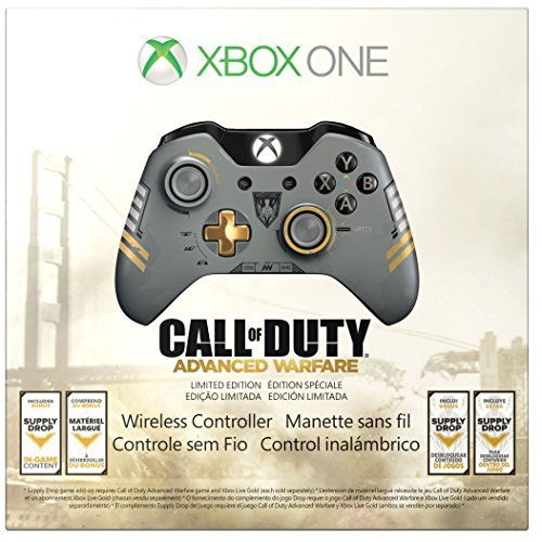 Price comparison product image Xbox One Limited Edition Call of Duty: Advanced Warfare Wireless Controller Edition: Wireless Controller Color: COD: Advanced Warfare Consumer Portable Electronics / Gadgets