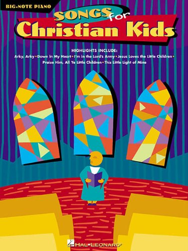 Songs for Christian Kids (Big-note Piano)