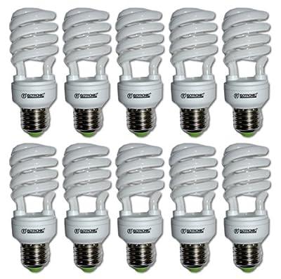 10er Set Energiesparlampe Spirale E27 15W 230V
